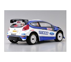 фото RC машины Kyosho DRX VE 2010 Ford Fiesta 1/9 4WD сзади