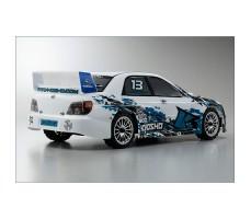 фото RC машины Kyosho Fazer VE-X Subaru Impreza KX1 1/10 4WD сзади