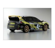 фото RC машины Kyosho Fazer VE-X Subaru Impreza KX2 1/10 4WD сзади