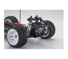 фото задней части системы RC машины Kyosho Mad Bug VEi 1/10 4WD