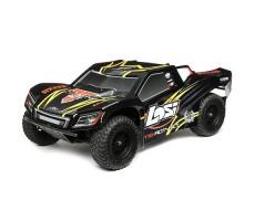 RC шорт-корс трак Losi Tenacity 4WD Black