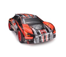 фото RC машины Remo Hobby Rally Master 4WD RTR оранжевого цвета