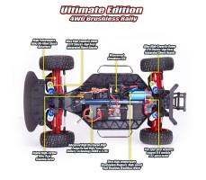 фото бесщеточной системы RC машины Remo Hobby Rally Master 4WD RTR