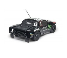 фото RC шорт-корс трака Team Associated SC10 Spec. Monster Energy|Toyota Racing 2WD сзади