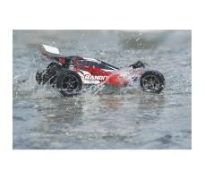 фото RC машины Traxxas Bandit VXL 1/10 2WD TSM Plus в движении по воде