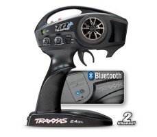 фото пульта радиоуправляемой машины Traxxas E-Maxx 1/10 4WD Brushless TSM