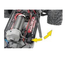 фото отсека для аккумуляторов радиоуправляемой машины Traxxas E-Maxx 1/10 4WD Brushless TSM