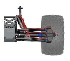 фото подвески радиоуправляемой машины Traxxas E-Maxx 1/10 4WD Brushless