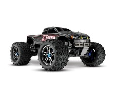RC машина Traxxas E-Maxx 1/10 4WD Brushless Black and Silver