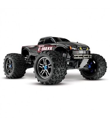 RC машина Traxxas E-Maxx 1/10 4WD Brushless Black and Silver | Купить, цена, отзывы