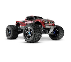 RC машина Traxxas E-Maxx 1/10 4WD Brushless TSM Red