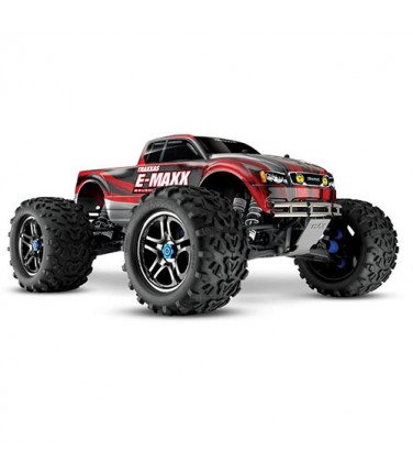 RC машина Traxxas E-Maxx 1/10 4WD Brushless Red and Silver | Купить, цена, отзывы