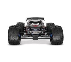 фото радиоуправляемой модели машины Traxxas E-Revo 1/10 4WD Brushless TSM Black спереди