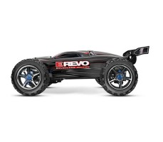фото радиоуправляемой модели машины Traxxas E-Revo 1/10 4WD Brushless TSM Black сбоку