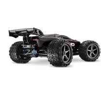 фото радиоуправляемой модели машины Traxxas E-Revo 1/10 4WD Brushless TSM Black сзади