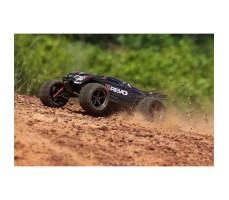 фото радиоуправляемой модели машины Traxxas E-Revo 1/10 4WD Brushless TSM Black в движении