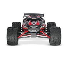 фото радиоуправляемой модели машины Traxxas E-Revo 1/10 4WD Brushless TSM Red спереди