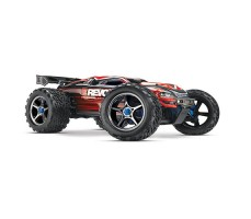 RC машина Traxxas E-Revo 1/10 4WD Brushless TSM Red