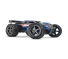 RC машина Traxxas E-Revo 1/10 4WD Brushed Blue