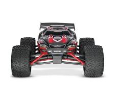 фото радиоуправляемой модели машины Traxxas E-Revo 1/10 4WD Brushed Red спереди