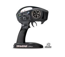 фото пульта управления радиоуправляемой модели машины Traxxas E-Revo 1/16 4WD VXL TSM Plus