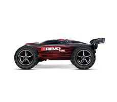 фото радиоуправляемой модели машины Traxxas E-Revo 1/16 4WD VXL TSM Plus Red сбоку