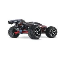 фото радиоуправляемой модели машины Traxxas E-Revo 1/16 4WD VXL TSM Plus Red сзади