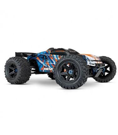Радиоуправляемая машина TRAXXAS E-Revo 6S 1/10 4WD TSM Orange | Купить, цена, отзывы