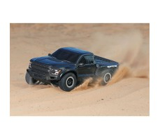 фото RC машины Traxxas Ford F-150 1/10 2WD Black в движении