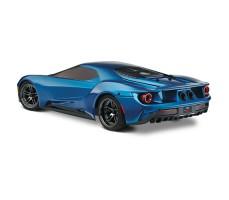 фото RC машины Traxxas Ford GT 1/10 4WD Blue сзади