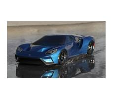 фото RC машины Traxxas Ford GT 1/10 4WD Blue в движении