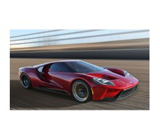 фото RC машины Traxxas Ford GT 1/10 4WD Red в движении