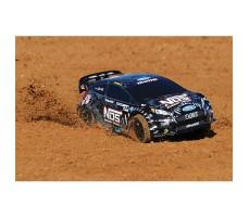 фото RC машины Traxxas Rally Ford Fiesta ST 1/10 4WD NOS 38 Deegan в движении