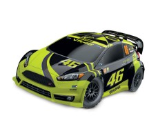 RC машина Traxxas Rally Ford Fiesta ST 1/10 4WD Yellow