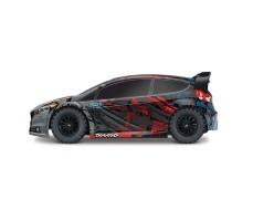 фото RC машины Traxxas Rally Ford Fiesta ST 1/10 4WD сбоку
