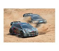 фото RC машин Traxxas Rally Ford Fiesta ST 1/10 4WD в движении