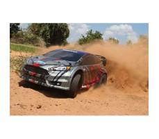 фото RC машины Traxxas Rally Ford Fiesta ST 1/10 4WD в движении