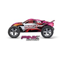фото RC машины Traxxas Rustler 1/10 2WD Pink