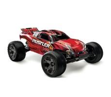 Радиоуправляемая машина TRAXXAS Rustler 4X4 1/10 Red