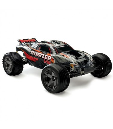 RC машина Traxxas Rustler VXL 1/10 2WD TSM Black | Купить, цена, отзывы