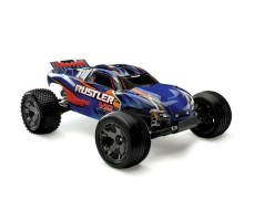 фото RC машины Traxxas Rustler VXL 1/10 2WD TSM Blue