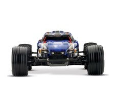 фото RC машины Traxxas Rustler VXL 1/10 2WD TSM Blue спереди