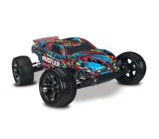 RC машина Traxxas Rustler VXL 1/10 2WD TSM Multicolor