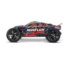 фото RC машины Traxxas Rustler VXL 1/10 2WD TSM Multicolor