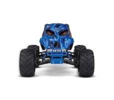 фото RC машины Traxxas Skully 1/10 2WD Blue спереди