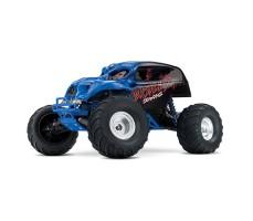 RC машина Traxxas Skully 1/10 2WD Blue