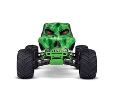 фото RC машины Traxxas Skully 1/10 2WD Green спереди