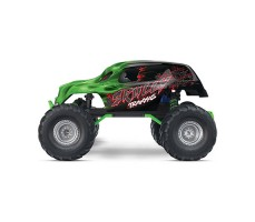 фото RC машины Traxxas Skully 1/10 2WD Green сбоку