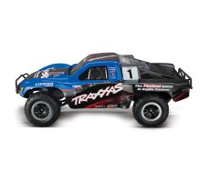 фото RC машины Traxxas Slash 1/10 2WD VXL TSM Blue сбоку