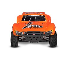фото RC машины Traxxas Slash 1/10 2WD VXL TSM Orange спереди